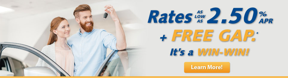 Get FREE GAP Protection on Your Auto Loan!