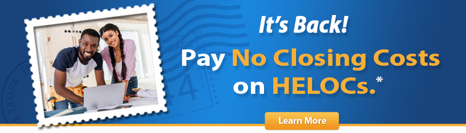 No Closing Cost HELOCs!